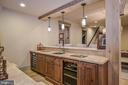 Furniture Grade Cabinets & Hammered Copper Sink - 6126 FRANKLIN PARK RD, MCLEAN