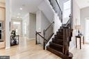 Upper Level Stairs - 5933 EMBRY SPRING LN, ALEXANDRIA