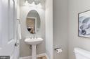 Main Level Half Bath - 5933 EMBRY SPRING LN, ALEXANDRIA