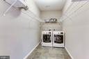 Upper Level Laundry Room - 5933 EMBRY SPRING LN, ALEXANDRIA