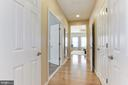 Entry into Master Bedroom Suite - 5933 EMBRY SPRING LN, ALEXANDRIA