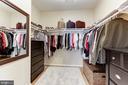 Walk-in Closet - 5933 EMBRY SPRING LN, ALEXANDRIA