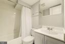 Lower level full bathroom - 3125 1ST PL N, ARLINGTON