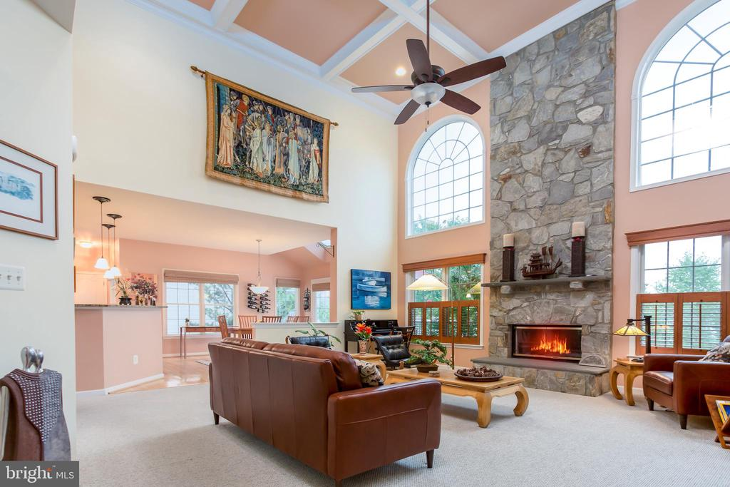 MN LEVEL VIEW OF STUNNING FAMILY RM. - 19676 PLAYER CT, ASHBURN