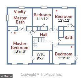 look at all this space! - 48 SAVANNAH CT, STAFFORD
