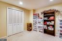 Large storage space and play area too - 48 SAVANNAH CT, STAFFORD