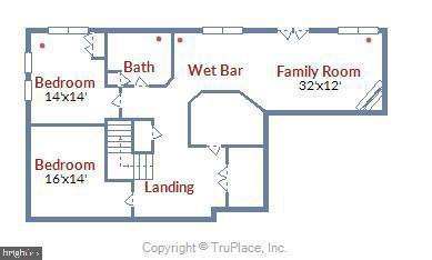 Two bonus rooms with full bath adds VALUE! - 48 SAVANNAH CT, STAFFORD