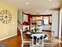 Open concept Kitchen - 25793 PLANTING FIELD DR, CHANTILLY