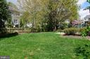 Backyard - 606 DISKIN PL SW, LEESBURG