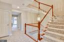 Stairs to 3rd level. - 18290 BUCCANEER TER, LEESBURG