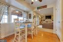 Kitchen eat-in space - 5304 KAYWOOD CT, FAIRFAX