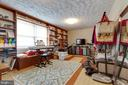 Bonus room perfect for office, yoga, or art studio - 5304 KAYWOOD CT, FAIRFAX