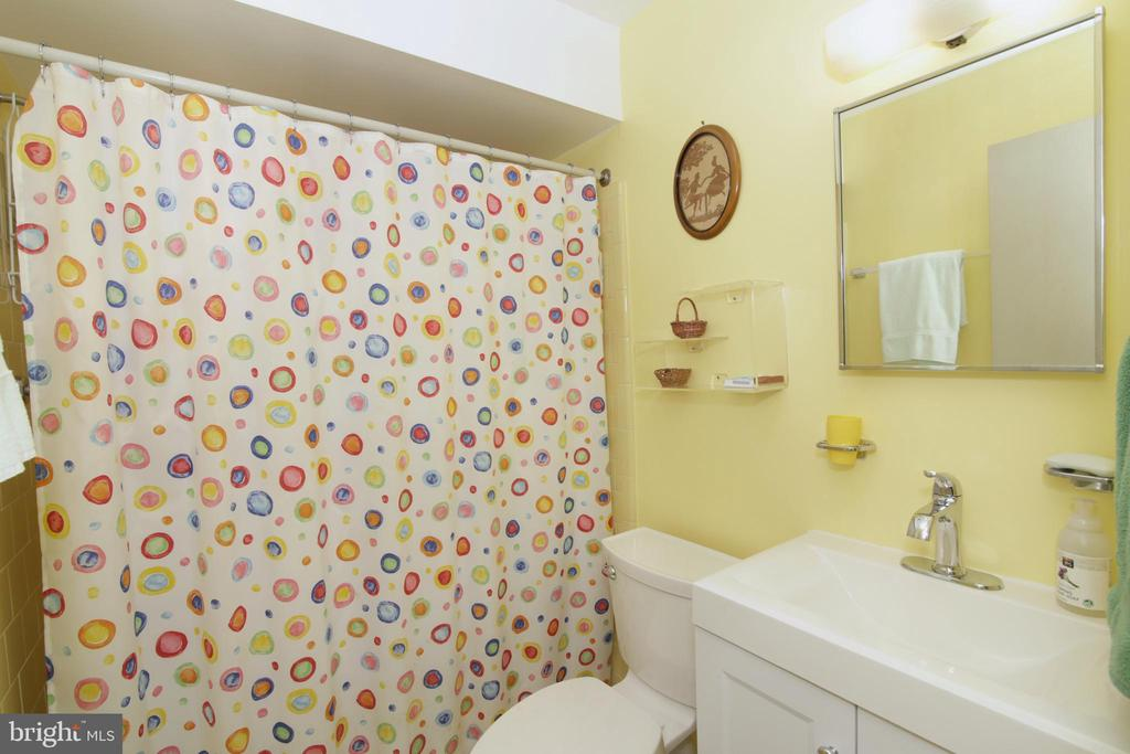 Full bathroom  and bedroom in LL - 3610 PRINCE WILLIAM DR, FAIRFAX