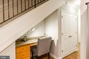 Office Nook Provides Quiet Work/Study Area. - 616 E ST NW #656, WASHINGTON