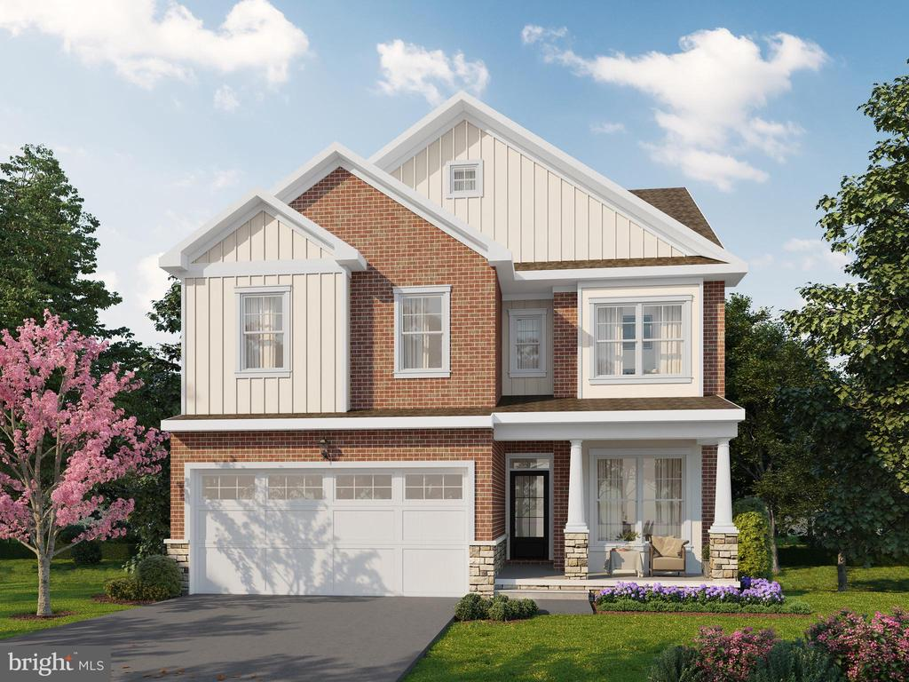 Exterior rendering - 6603 ACCIPITER DR, NEW MARKET