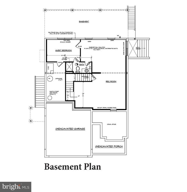 Basement Floor Plan - 6603 ACCIPITER DR, NEW MARKET