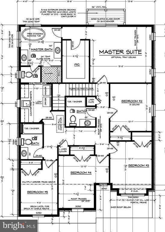 Upper Level Floor Plan - 6603 ACCIPITER DR, NEW MARKET