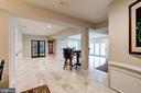 Beautiful Marble Flooring - 7904 OAKSHIRE LN, FAIRFAX STATION