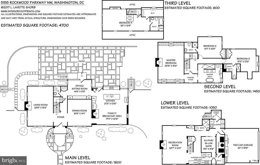 Floor Plans - 5155 ROCKWOOD PKWY NW, WASHINGTON
