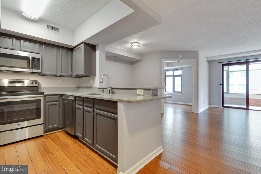 Newer counter top - 2400 CLARENDON BLVD #308, ARLINGTON