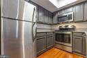 Kitchen with stainless steel appliances - 2400 CLARENDON BLVD #308, ARLINGTON