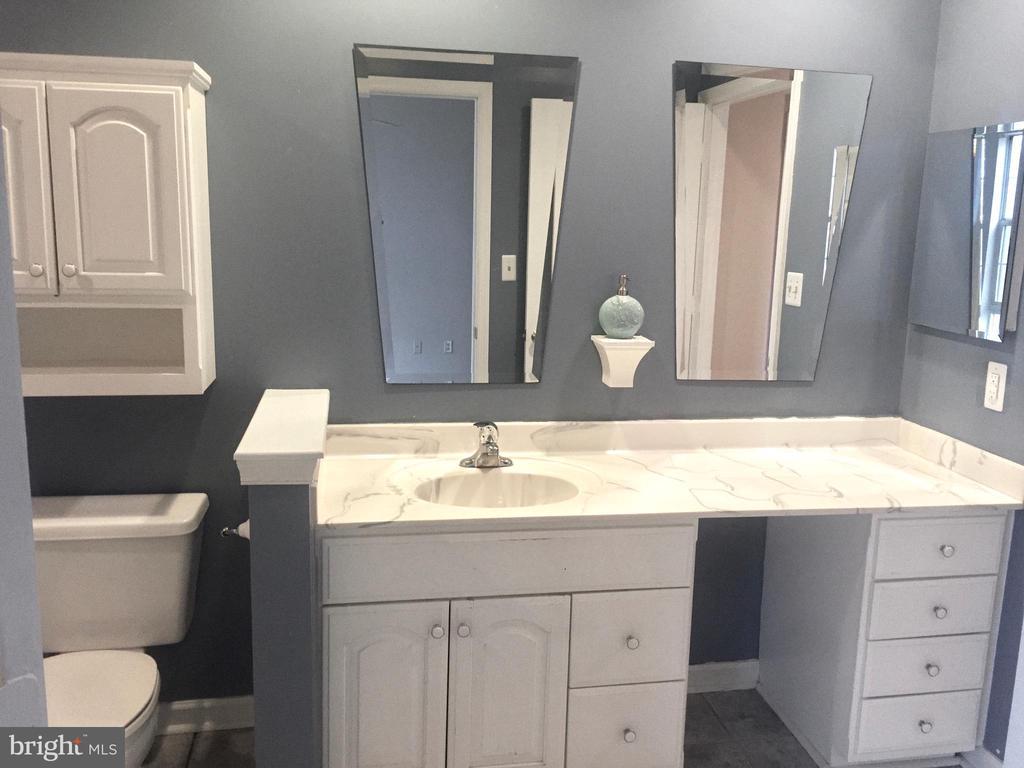 Full bath with vanity area - 20303 BEECHWOOD TER #102, ASHBURN