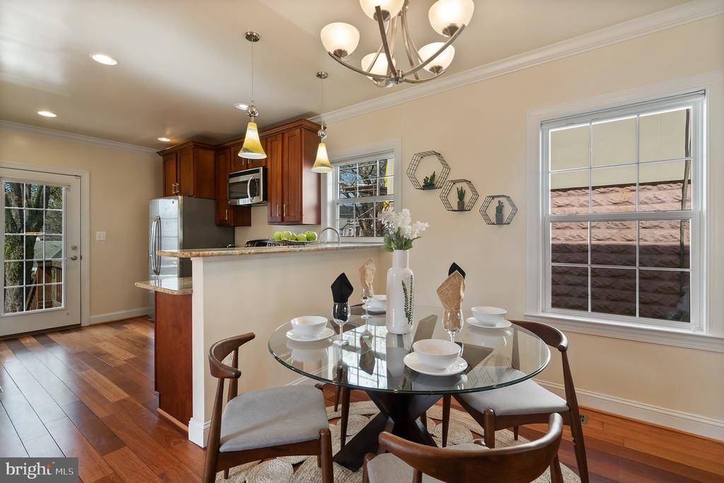 Host an intimate dinner party. - 3520 SOUTH DAKOTA AVE NE, WASHINGTON