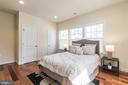 Master bedroom with dual closets - 3520 SOUTH DAKOTA AVE NE, WASHINGTON