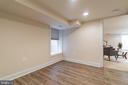 Bedroom 4 with egress window - 3520 SOUTH DAKOTA AVE NE, WASHINGTON