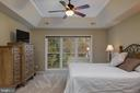 Master - coffered tray ceiling - 606 DISKIN PL SW, LEESBURG