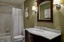 Remodeled Hall Bath - 606 DISKIN PL SW, LEESBURG