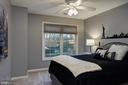 Bedroom #2 has double closet - 606 DISKIN PL SW, LEESBURG