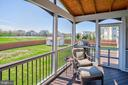 Screened porch & maintenance free deck - 43137 BUTTERFLY WAY, LEESBURG
