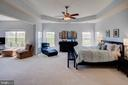 Master bedroom and sitting room - 43137 BUTTERFLY WAY, LEESBURG