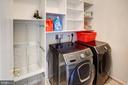 Upper level laundry room - 43137 BUTTERFLY WAY, LEESBURG