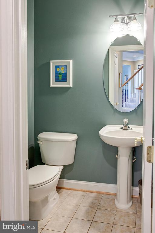 Main level powder room - 43137 BUTTERFLY WAY, LEESBURG