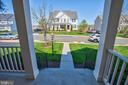 View from front porch - 43137 BUTTERFLY WAY, LEESBURG