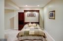 Lower level den/5th bedroom - 43137 BUTTERFLY WAY, LEESBURG