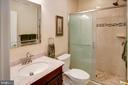 Lower level full bath - 43137 BUTTERFLY WAY, LEESBURG