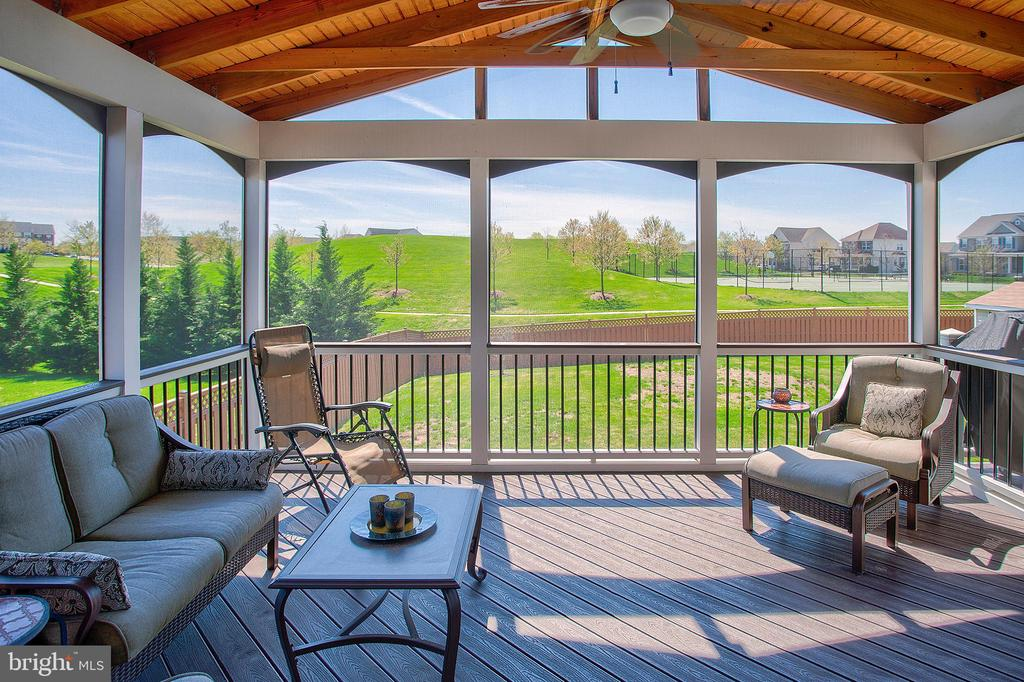 Screened porch - 43137 BUTTERFLY WAY, LEESBURG