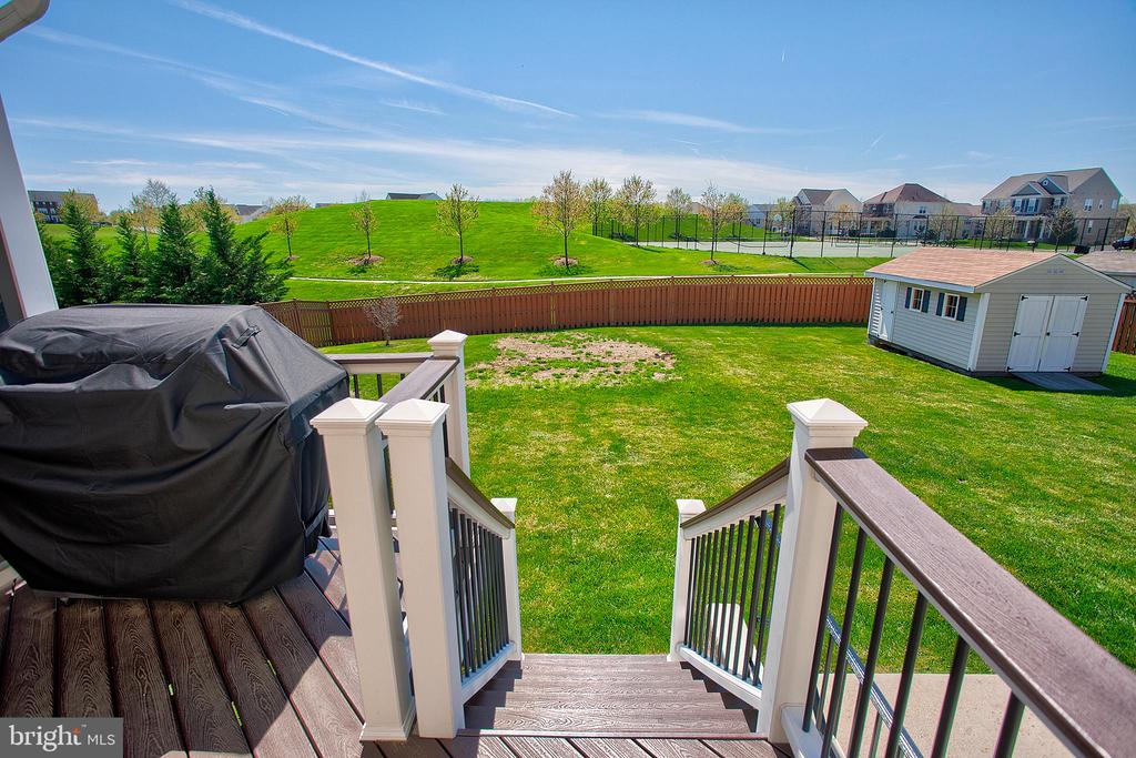 View from back deck - 43137 BUTTERFLY WAY, LEESBURG