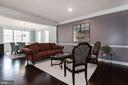 Spacious Living room - 43341 BARNSTEAD DR, ASHBURN