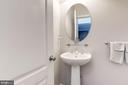 Powder room - 43341 BARNSTEAD DR, ASHBURN