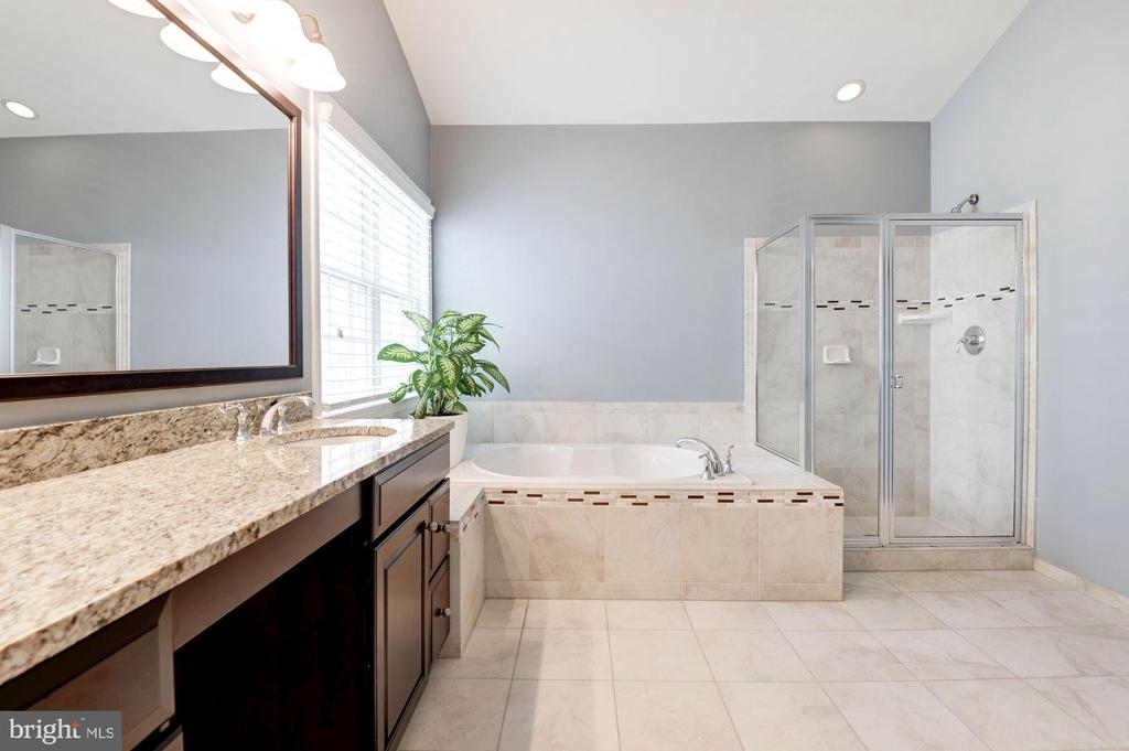 Separate Shower & Tub in Master Bathroom - 43341 BARNSTEAD DR, ASHBURN
