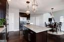 Large Kitchen Island - 43341 BARNSTEAD DR, ASHBURN
