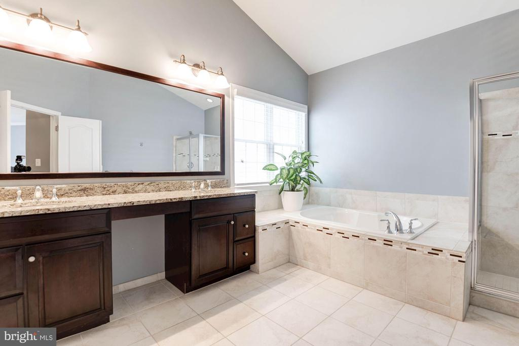 Lavish~Master Bathroom - 43341 BARNSTEAD DR, ASHBURN