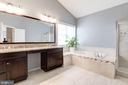 Lavish~Master Bathroom - 43341 BARNSTEAD DR, ASHBURN