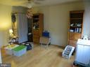 master bedroom from bathroom door - 535 MONTICELLO CIR, LOCUST GROVE