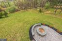 Fire pit on the patio - 43341 BARNSTEAD DR, ASHBURN