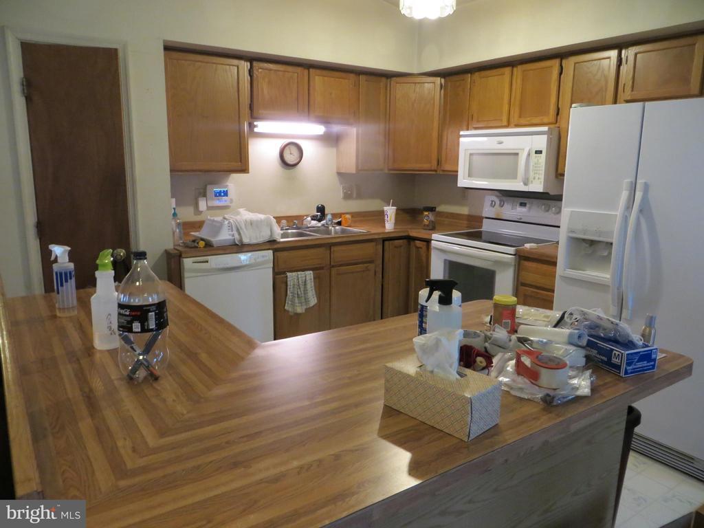 counter kitchen - 535 MONTICELLO CIR, LOCUST GROVE